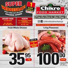 Chikro Food Market : Super Wednesday! (12 August 2020 Only!)