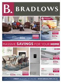 Bradlows : Massive Savings For Your Home (22 June - 21 July 2020)