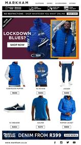 Markham : Lockdown Blue? (27 May 2020 - While Stock Last)