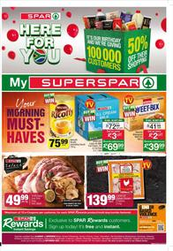 SUPER SPAR Western Cape Boland : Here For You (24 August - 06 September 2020)