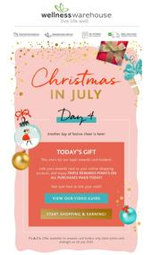 Wellness Warehouse : Another Christmas in July Gift Unwrapped! (28 July 2020 - While Stocks Last)