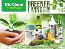 Dis-Chem : Greener Living 2020 (20 August - 25 September 2020)