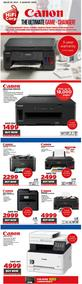 HiFi Corp :  Canon Printers (23 July - 05 August 2020)