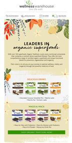 Wellness Warehouse : Transform Your Health With Superfoods (Request Valid Dates From Retailer)