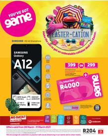 Game Vodacom : You've Got Game (8 March - 31 March 2021)