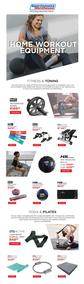 Sportsmans Warehouse : Your Ultimate Home Workout Equipment (Request Valid Dates From Retailer)