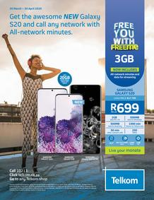 Telkom : Free You With Free Me  (20 March - 30 April 2020)