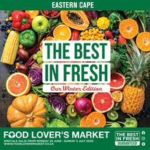 Food Lover's Market Eastern Cape : The Best In Fresh (29 June - 5 July 2020)