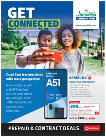 Incredible Connection :  Latest Vodacom Catalogue (07 August - 02 September 2020)