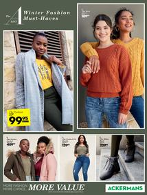 Ackermans : Winter Must Haves (26 March - 1 April 2020)