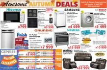Tafelberg Furnishers Western Cape : Awesome Autumn Deals (07 April - 18 April 2021)