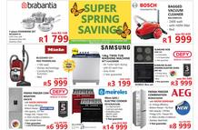 Tafelberg Furnishers : Super Spring Savings (02 September - 13 September 2020 While Stocks Last)