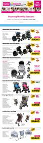 Baby Boom : Booming Monthly Specials! (05 October - 31 October 2020)