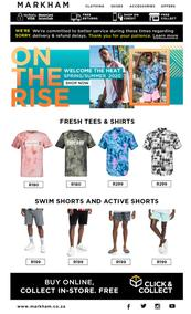 Markham : Fresh Spring Styles (Request Valid Dates From Retailer)