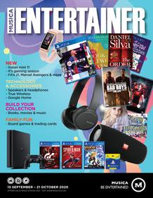 Musica : Entertainer (15 September - 21 October 2020)
