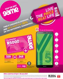 Game Vodacom : Live The Price Beat Life (21 April - 6 June 2021)