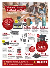 Brights Hardware : Celebrate Togetherness & Great Deals! (20 March - 02 May 2020)