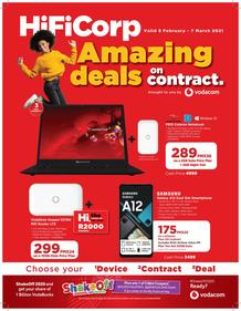 HiFi Corp : Vodacom Catalogue (23 February - 07 March 2021)