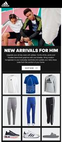 Adidas : New Arrivals Collection (Request Valid Dates From Retailer)