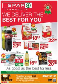 SUPER SPAR Stellenbosch,Malmesbury,Egdemead & Parklands  : We Deliverm The Best For You (10 August - 23 August 2020)