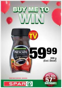 SPAR : Buy Me To Win (25 August - 06 September 2020)