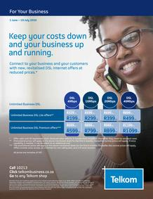 Telkom : Business (01 June -19 July 2020)