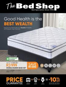 The Bed Shop : Good Health Is The Best Wealth (22 February - 25 April 2021)