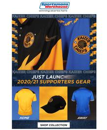 Sportsmans Warehouse : Only For Kaizer Chiefs Supporters! (Request Valid Dates From Retailer)
