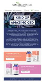 Wellness Warehouse : Kind Of Amazing CBD (Request Valid Dates From Retailer)