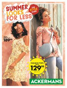 Ackermans : Summer Look For Less (1 Nov - 14 Nov 2018)