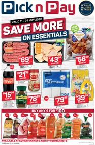 Pick n Pay Western Cape : Save More On Essentials (11 May - 24 May 2020)