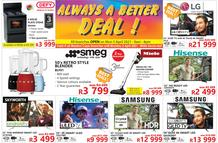 Tafelberg Furnishers Western Cape : Always A Better Deal! (30 March - 05 April 2021)