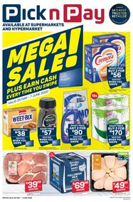 Pick n Pay Eastern Cape : Mega Sale (25 May - 7 June 2020)