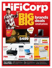 HiFi Corp : Big Brand Deals! (30 July - 04 August 2020)