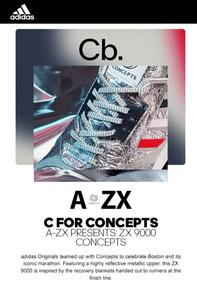 Adidas : C for ZX 9000 Concepts Drops Tomorrow (Request Valid Dates From Retailer)