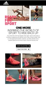 Adidas : Sport Is About Joy (Request Valid Dates From Retailer)