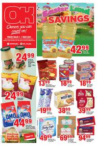 OK Foods Western Cape : Easter Land Savings (03 March - 07 March 2021)