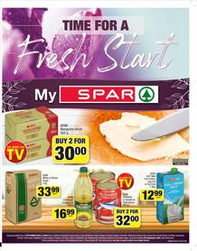 SPAR Bellville,Fish Hoek, Brackenfell,Hout Bay & Sea Point : Time For A Fresh Start (07 September - 20 September 2020)