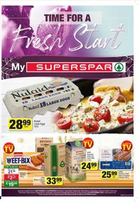 SUPER SPAR Edgemead,Malmesbury,Paarl & Parklands : Time For A Fresh Start (07 September - 20 September 2020)