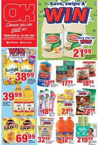 OK Foods Western Cape : Save,Swipe & Win (23 September - 29 September 2020)