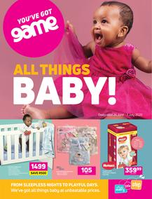 Game : All Things Baby (24 June - 7 July 2020)