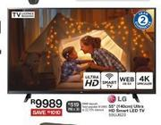 "LG 55""(140cm) Ultra HD Smart LED TV 55LU820"