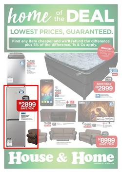 House & Home : Lowest Prices (10 Apr - 22 Apr 2018), page 1
