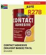 Special Alcolin Contact Adhesivesolvent Based Tin 5ltr