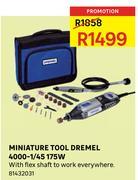 Special Miniature Tool Dremel 4000 145 175w Wwwguzzlecoza