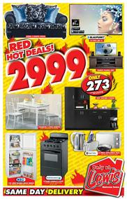 Lewis : Red Hot Deals (14 May - 17 Jun 2018)