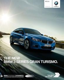 BMW : 3 Series Gran Turismo (19 Jun - 31 Dec 2018)