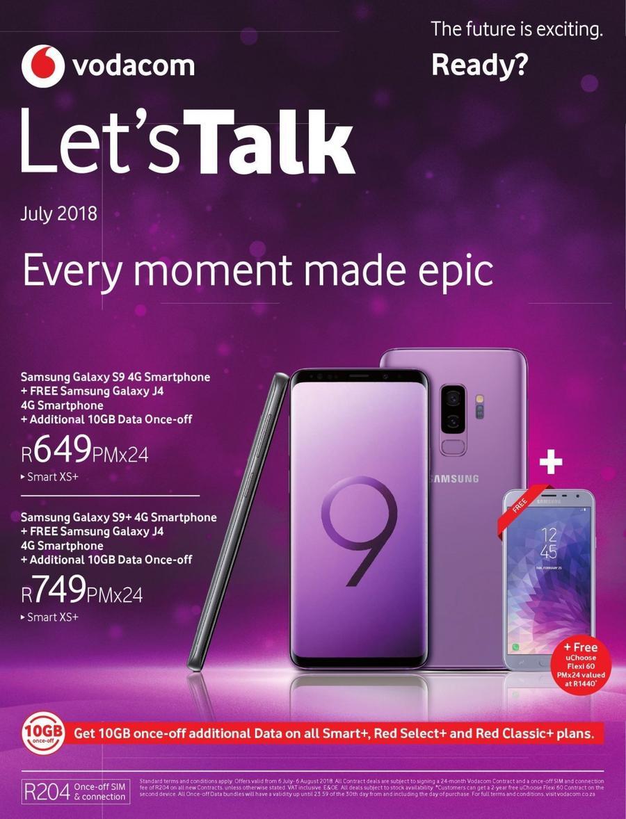 Vodacom deals booklet