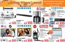 Tafelberg Furnishers : Women's Month (02 Aug - 12 Aug 2018)