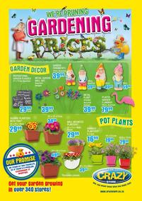 The Crazy Store : Gardening Prices (03 Sep - 30 Sep 2018)